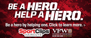 Sport Clips Annapolis​ Help a Hero Campaign